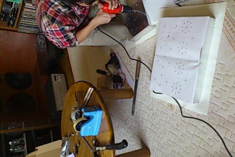 真空管アンプ作成合宿!!