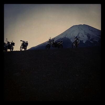 ツーリング北富士演習場